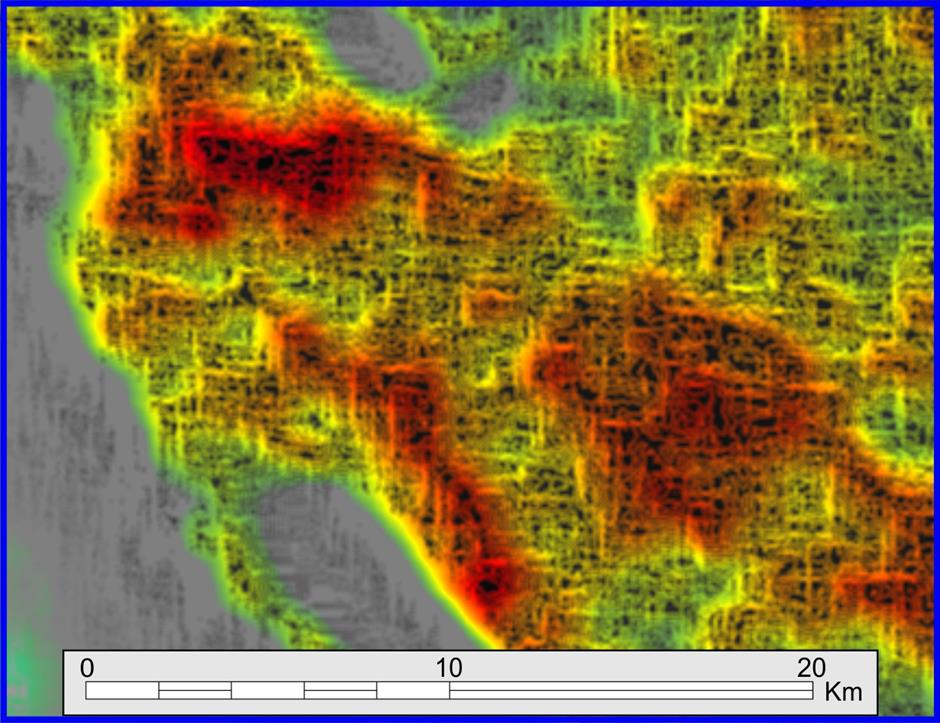 Direct Hydrocarbon Mapping in the Onshore Basins of Mexico